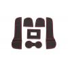 СИЛИКОНОВЫЕ ВСТАВКИ В САЛОН ДЛЯ AUDI Q3 2013-2016 (BGT-PRO, PADS-AU-Q3-T1-R)