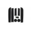 СИЛИКОНОВЫЕ ВСТАВКИ В САЛОН ДЛЯ BMW 5-SERIES (F10) 2009-2017 (BGT-PRO, PADS-BMW-5-F10-T1-W)