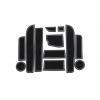 СИЛИКОНОВЫЕ ВСТАВКИ В САЛОН ДЛЯ BMW 5-SERIES (F10) 2009-2017 (BGT-PRO, PADS-BMW-5-F10-T2-W)