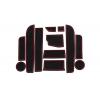 СИЛИКОНОВЫЕ ВСТАВКИ В САЛОН ДЛЯ BMW 5-SERIES (F10) 2009-2017 (BGT-PRO, PADS-BMW-5-F10-T2-R)