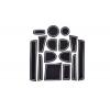 СИЛИКОНОВЫЕ ВСТАВКИ В САЛОН ДЛЯ BMW X1 (E84) 2009-2015 (BGT-PRO, PADS-BMW-X1-E84-W)