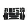 СИЛИКОНОВЫЕ ВСТАВКИ В САЛОН ДЛЯ BMW X3 (F25) 2010-2017 (BGT-PRO, PADS-BMW-X3-F25-W)