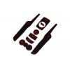 СИЛИКОНОВЫЕ ВСТАВКИ В САЛОН ДЛЯ FORD FIESTA 2008-2014 (BGT-PRO, PADS-FD-FIES-08-R)