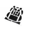 СИЛИКОНОВЫЕ ВСТАВКИ В САЛОН ДЛЯ LEXUS NX 2014+ (BGT-PRO, PADS-LX-NX-W)