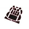 СИЛИКОНОВЫЕ ВСТАВКИ В САЛОН ДЛЯ LEXUS NX 2014+ (BGT-PRO, PADS-LX-NX-R)