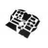 СИЛИКОНОВЫЕ ВСТАВКИ В САЛОН ДЛЯ LEXUS RX III 2009-2015 (BGT-PRO, PADS-LX-RX-3-W)