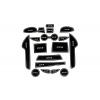 СИЛИКОНОВЫЕ ВСТАВКИ В САЛОН ДЛЯ MAZDA CX-5 I 2012-2014 (BGT-PRO, PADS-MZ-CX5-1-12-14-W)