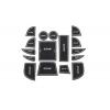 СИЛИКОНОВЫЕ ВСТАВКИ В САЛОН ДЛЯ MAZDA CX-5 I 2014-2017 (BGT-PRO, PADS-MZ-CX5-1-W)