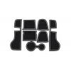 СИЛИКОНОВЫЕ ВСТАВКИ В САЛОН ДЛЯ PORSCHE MACAN 2014-2016 (BGT-PRO, PADS-PORS-MAC-14-W)