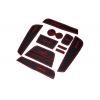 СИЛИКОНОВЫЕ ВСТАВКИ В САЛОН ДЛЯ RENAULT CAPTUR 2013+ (BGT-PRO, PADS-REN-CAPT-R)