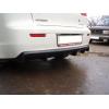 Диффузор заднего бампера для Mitsubishi Lancer X 2007+ (AVTM, MILARD0719)