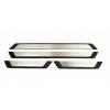 Накладки на пороги (нерж., Exclusive) для Audi A3 2012+ (Omsa Prime, 97UN091EP)