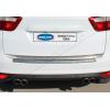 Хром накладка на кромку багажника (нерж.) для Ford C-Max 2010+ (Omsa Prime, 2609052)