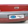 Хром накладка на кромку багажника (нерж.) для Renault Megane II SD 2004-2010 (Omsa Prime, 6103053)