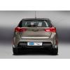 Хром накладка на кромку багажника (нерж.) для Toyota Auris II (5D) HB 2012+ (Omsa Prime, 7017052)