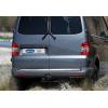 Хром накладка на кромку багажника (нерж.) для Volkswagen T5 Multivan (2-дверн.) 2003-2014 (Omsa Prime, 7522059)