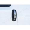 Накладки на дверные ручки (нерж., 5-шт.) для Citroen Nemo 2007+ (Omsa Prime, 2521042)