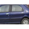 Накладки на дверные ручки (нерж., 4-шт.) для Fiat Palio 2012+ (Omsa Prime, 2504041)