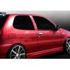 Накладки на дверные ручки (нерж., 2-шт.) для Fiat Palio (3D) HB 2012+ (Omsa Prime, 2504042)
