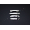 Накладки на дверные ручки (нерж.) для Ford B-Max 2012+ (Omsa Prime, 2614043)