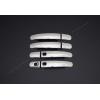 Накладки на дверные ручки (нерж., 4-шт.) для Ford Kuga 2008-2012 (Omsa Prime, 2612043)