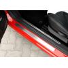Накладки на пороги (алюминий) для Alfa Romeo 147 (5D) HB 2001-2010 (Omsa Prime, 0101091)