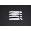 Накладки на дверные ручки (нерж., Deco) для Opel Zafira Tourer C 2011+ (Omsa Prime, 5202045)