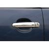 Накладки на дверные ручки (нерж., Deco) для Seat Leon II HB 2005-2012 (Omsa Prime, 7502047)