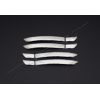 Накладки на дверные ручки (нерж., Deco) для Volkswagen Passat CC SD 2008+ (Omsa Prime, 7505045)