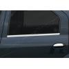 Накладки на дверные ручки (нерж., 4-шт.) для Dacia Logan SD 2008-2012 (Omsa Prime, 2003041)