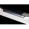 Накладки на пороги (нерж.) для Dacia Sandero Stepway II (5D) HB 2012+ (Omsa Prime, 2005091P)