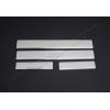 Накладки на пороги (нерж.) для Hyundai I10 (5D) HB 2013+ (Omsa Prime, 3213091)