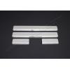 Накладки на пороги (нерж.) для Hyundai I20 (5D) HB 2014+ (Omsa Prime, 3207091)