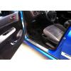 Накладки на пороги (нерж.) для Peugeot 307 CC 2003-2008 (Omsa Prime, 5703092)