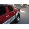 Накладки на дверные ручки (нерж., 4-шт.) для Nissan Pick-Up/Skyestar (D22) 1999-2006 (Omsa Prime, 5002041)