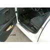 Накладки на пороги (нерж.) для Seat Leon III HB 2012+ (Omsa Prime, 6511091)