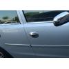 Накладки на дверные ручки (нерж., 2-шт.) для Opel Combo C (2D) 2001-2011 (Omsa Prime, 5203044)
