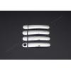 Накладки на дверные ручки (нерж., 4-шт.) для Seat Toledo IV SD 2012+ (Omsa Prime, 7513041)