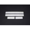 Накладки на пороги (нерж.) для Hyundai ix20 (5D) HB 2010+ (Omsa Prime, 3210091)
