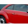 Накладки на дверные ручки (нерж., 2-шт.) для Volkswagen Beetle 2013+ (Omsa Prime, 7543041)