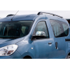 Накладки на зеркала (нерж., 2-шт.) для Dacia Dokker (M0) 2012+ (Omsa Prime, 2020111)