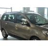 Накладки на зеркала (нерж., 2-шт.) для Dacia Lodgy (M0) 2012+ (Omsa Prime, 2020111)