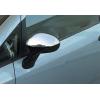 Накладки на зеркала (нерж., 2-шт.) для Fiat Linea (323) SD 2012+ (Omsa Prime, 2508112)