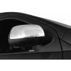 Накладки на зеркала (нерж., 2-шт.) для Nissan Note (E12) 2012+ (Omsa Prime, 2020111)