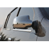 Накладки на зеркала (нерж., 2-шт.) для Nissan Terrano 2014+ (Omsa Prime, 2004111)