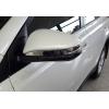 Накладки на зеркала (нерж., 2-шт.) для Toyota Rav4 IV (XA40) 2013+ (Omsa Prime, 7019115)