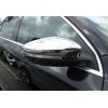 Накладки на зеркала (нерж., 2-шт.) для Volkswagen Eos (1F7/1F8) 2011+ (Omsa Prime, 7538111)