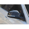 Накладки на зеркала (карбон, 2-шт.) для BMW 3-series (F30) SD 2012+ (Omsa Prime, 1214111C)