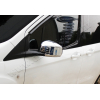 Накладки на зеркала (Abs-хром.) для Ford Courier 2014+ (Omsa Prime, 2625111)