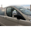 Накладки на зеркала (Abs-хром.) для Ford Custom 2012+ (Omsa Prime, 2624111)
